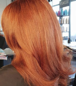 Copper Tones in hair