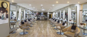 interior faith hairdressers sligo